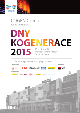 Program - COGEN Czech
