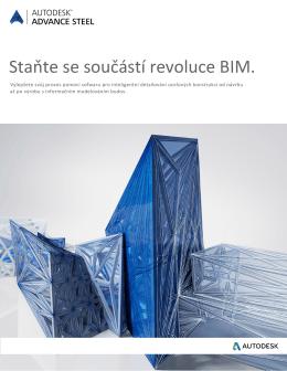 Staňte se součástí revoluce BIM.