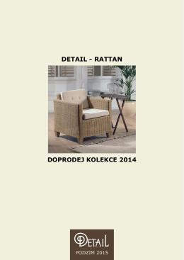 doprodej kolekce 2014 - židle - DETAIL