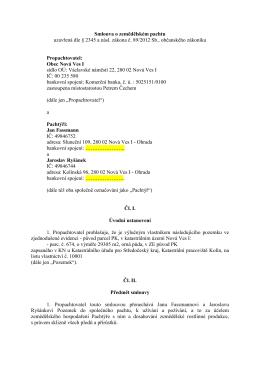 Pachtovní smlouva - č. 54-15