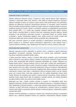 1 PŘÍLOHA Č. P6-05-02: UPŘESNĚNÍ