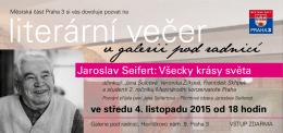 Jaroslav Seifert: Všecky krásy světa