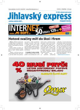 Listopad - Jihlavský express