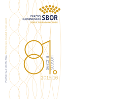 5sezona season - Pražský filharmonický sbor