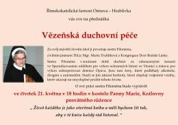 Vězeňská duchovní péče - Římskokatolická farnost Ostrava