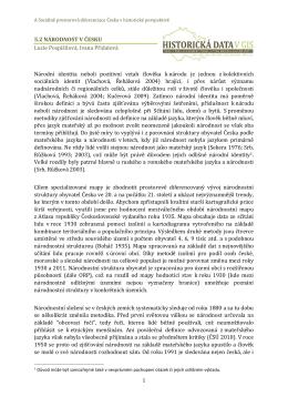 Analytický text - Atlas obyvatelstva
