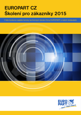 EUROPART CZ Školení pro zákazníky 2015