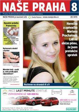 Herečka a zpěvačka Mariana Prachařová: Lidi mi občas píšou, že