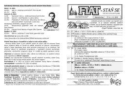 20. 4. - 26. 4. 2015 - Římskokatolická farnost Panny Marie Kroměříž