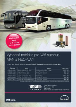 Výhodná nabídka pro Váš autobus MAN a NEOPLAN