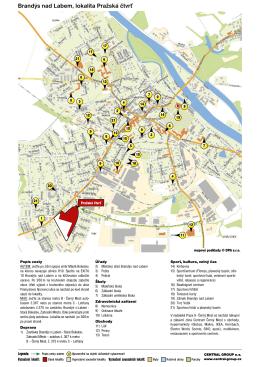 Brandýs nad Labem, lokalita Pražská čtvrť