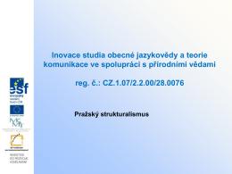 Pražský strukturalismus 3