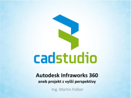 Co je Autodesk Infraworks?
