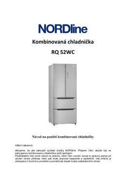 Kombinovaná chladnička RQ 52WC