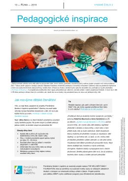 dokument ke stažení Pedagogické inspirace 2/2015 pdf