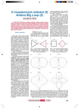 O vícepásmových anténách (9) Anténa Big Loop (2)