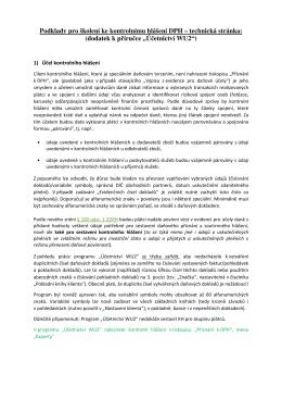 Kontrolní hlášení k DPH
