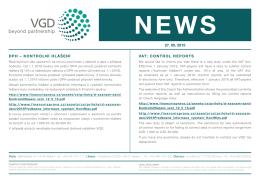 květen 2015 - DPH - kontrolní hlášení