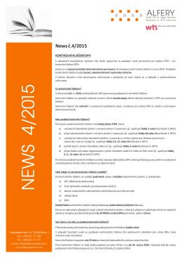 NEWS 4/2015