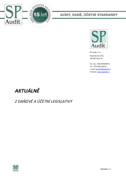 Bulletin SP Audit 07/2015
