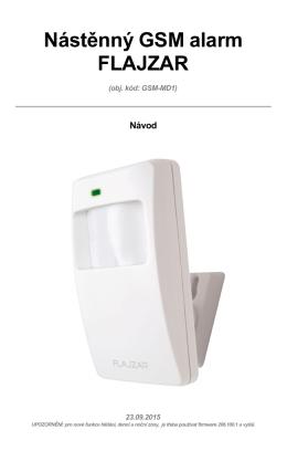 GSM-MD1 - FLAJZAR.cz