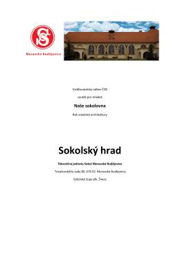 Naše sokolovna – TJ Sokol Moravské Budějovice