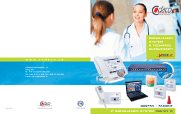 ip signalizační systém hcc-01 ip sestra - pacient