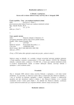 Realizační smlouva č.3 2015-04-29 číslo 12/2015 EO/2015/00059-4