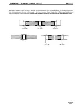 TĚSNĚNÍ PVC – KOMBINACE TVRDÉ / MĚKKÉ 06.01.01.0