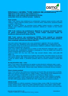 Tech. list. TVO protiskluzný