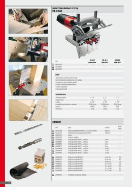 Tesařské nástroje a elektrické nářadí