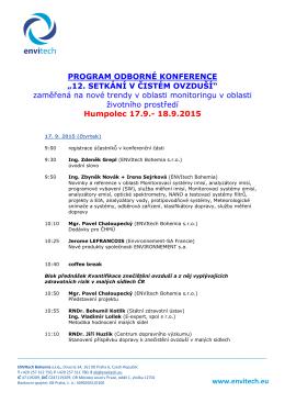 Humpolec 17.9.- 18.9.2015
