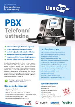 LinuxBox PBX - LinuxBox.cz