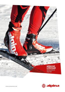 Katalog produktů Alpina (běžecká) 2015/16