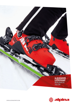 Katalog produktů Alpina (sjezdová) 2015/16