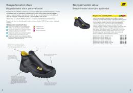 Bezpečnostní obuv Bezpečnostní obuv