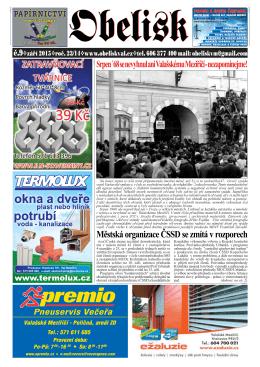 Městská organizace ČSSD se zmítá v rozporech