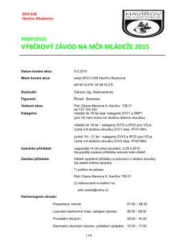 propozice_1 - ZKO Havířov