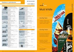 Prospekt - muší křídla 2013 - I. díl