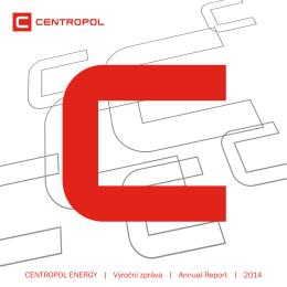 Výroční zpráva 2014 - CENTROPOL ENERGY a.s.