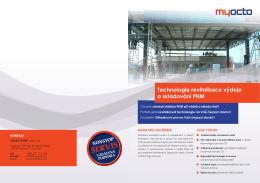 Technologie revitalizace výdeje a skladování PHM