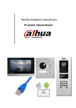 Rychlý instalační manuál pro