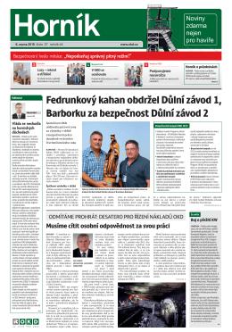 HORNÍK č. 27 ze dne 6. 8. 2015