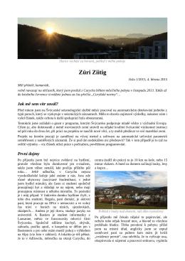 Zuri Ziitig 1/2015