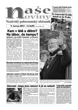 Číslo 11 - naše noviny archiv