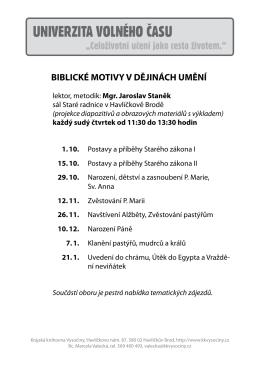 Biblické motivy v dějinách umění