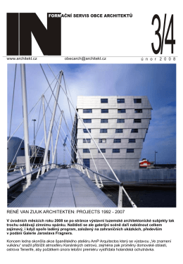 rené van zuuk architekten: projects 1992 - 2007