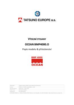 výdejní stojany oceanbmp4000.o