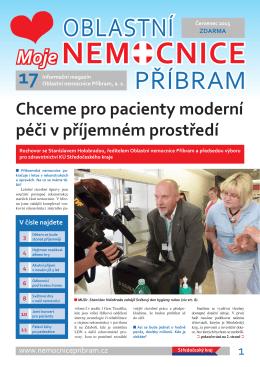 Časopis Mojenemocnice červen 2015