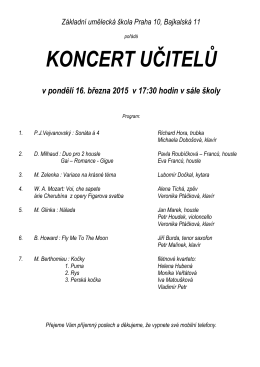 Základní umělecká škola Praha 10, Bajkalská 11 - zus